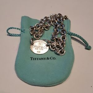 Tiffany Sterling Necklace
